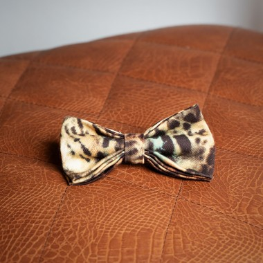 Leopard bow tie - product image