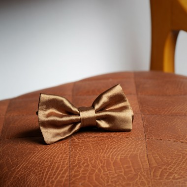 Gold bow tie - product image