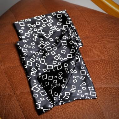 Μαύρο καρό φουλάρι - product image