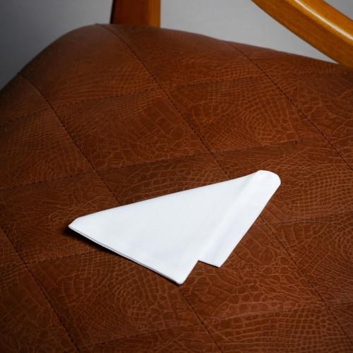 White pocket square - product image