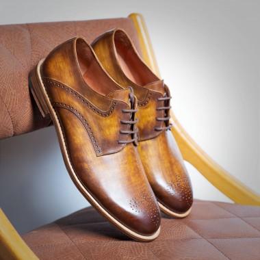 Παπούτσια Καφέ πατίνα - product image