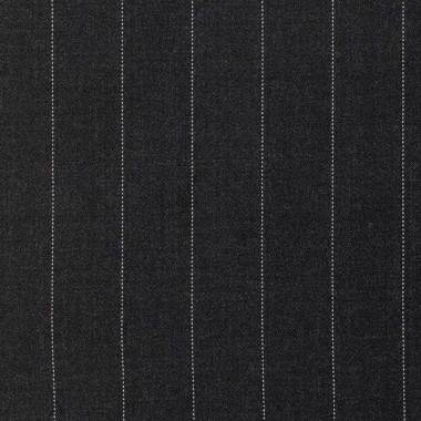 BUSINESS SUIT/DARK GREY STRIPES