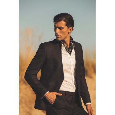 Black Mao suit - product image