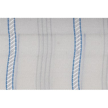 SLEEVE LINING/WHITE WITH STRIPES