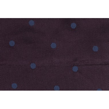 FANCY LINING/PURPLE POLKA DOT
