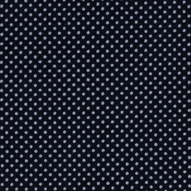 DARK BLUE POLKA DOT