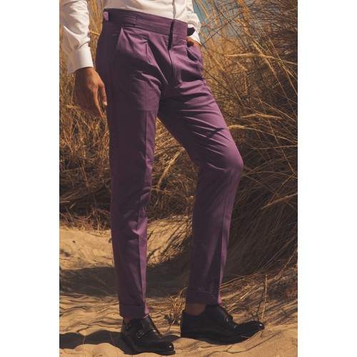 Violet Purple highwaisted trouser - product image