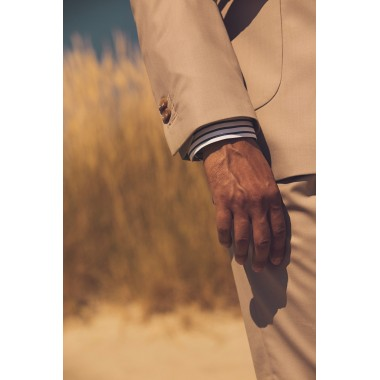 Beige Double breasted suit - product image