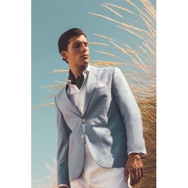 Light blue jacket - product image