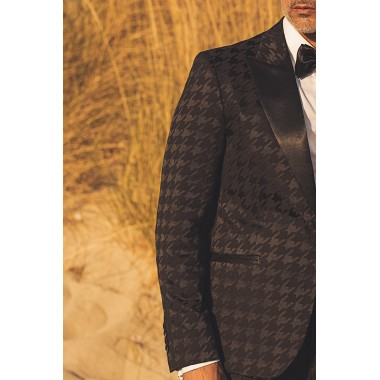 Black pie de pul  tuxedo - product image