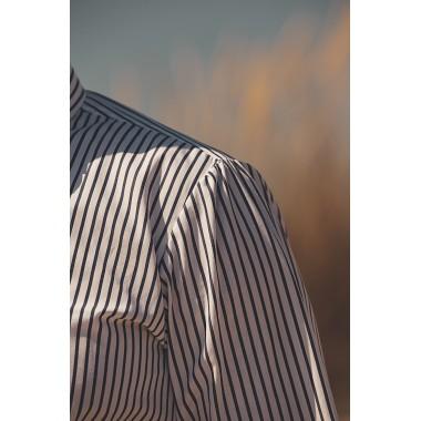Λευκό ριγέ πουκάμισο - product image