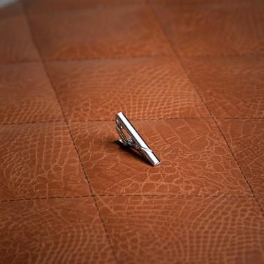 Silver tie clip - product image