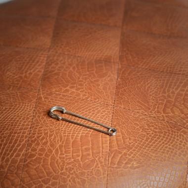 Ασημί καρφίτσα γραβάτας - product image