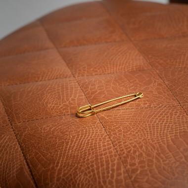 Χρυσή καρφίτσα γραβάτας - product image