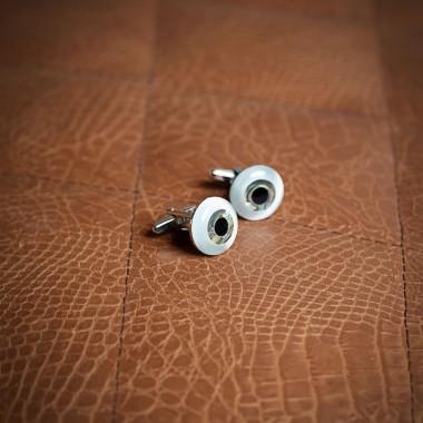 Birdseye cufflinks - product image